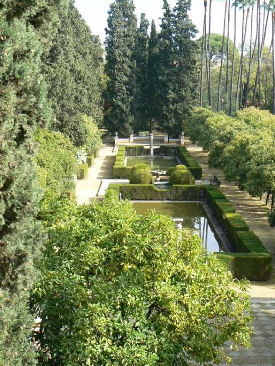 jardins Alcazar Séville
