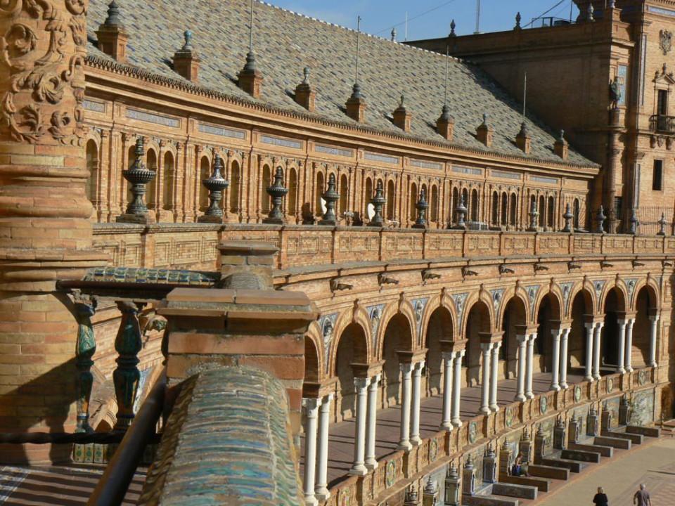 Place d'Espagne de Séville