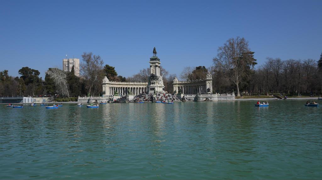 Parc du Retiro Madrid