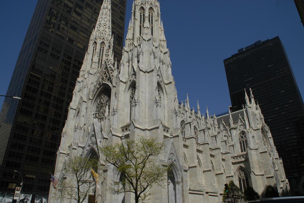 New York église Saint Patrick